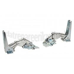 Scharnieren -set, 2 stuks- Bosch/Siemens koelkast 00492680
